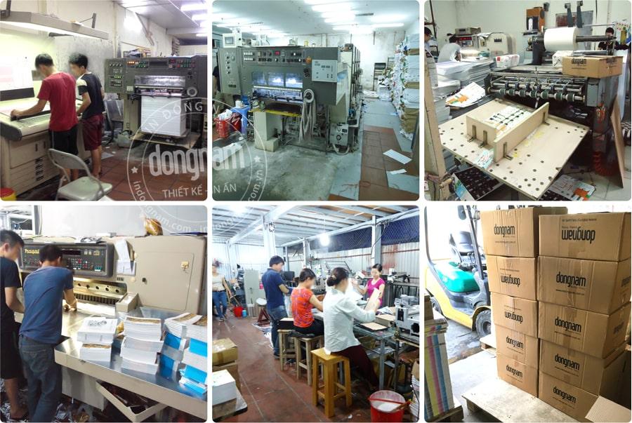 Xưởng in tờ rơi tại Hà Nội